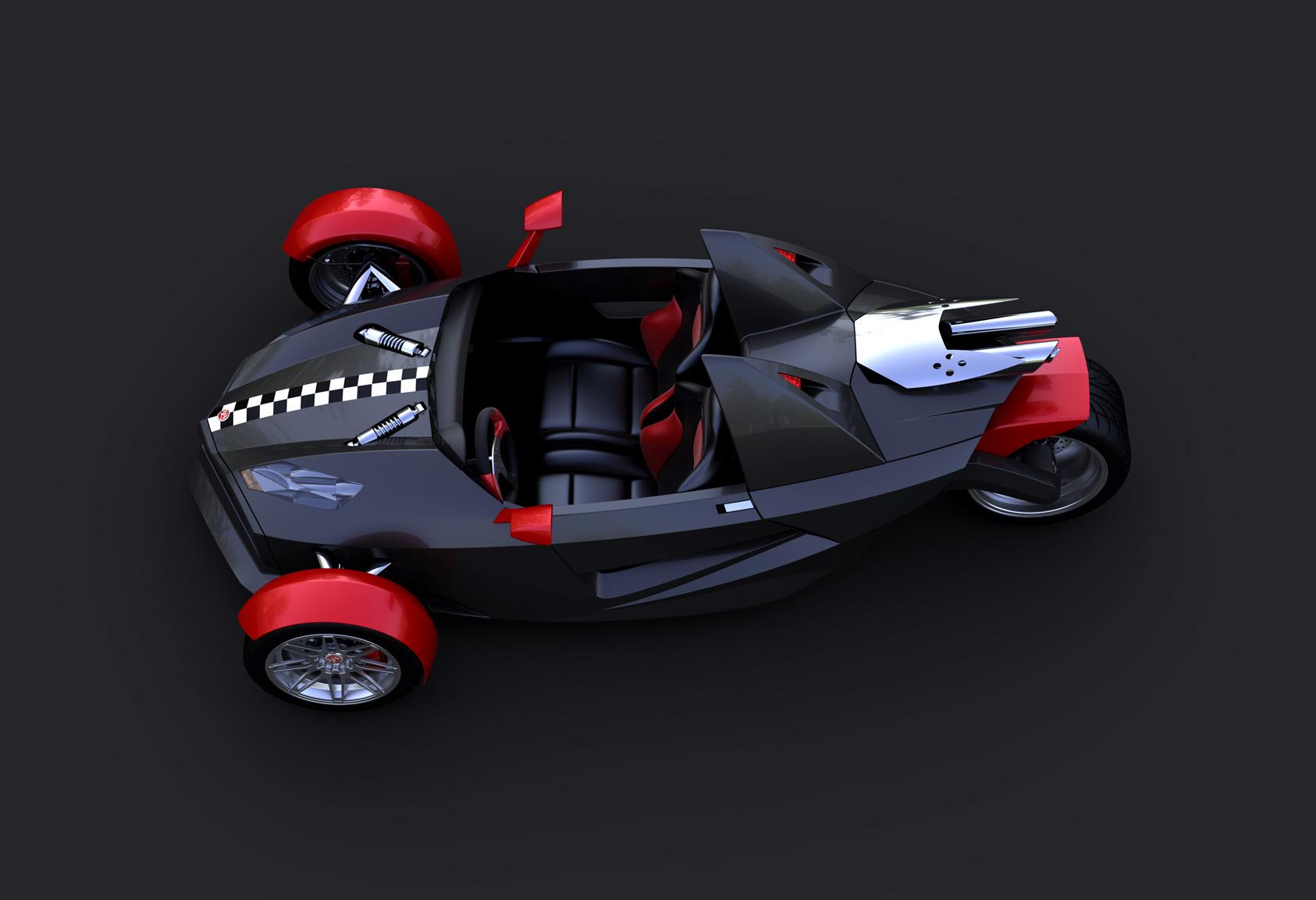 Energya Reverse Trike