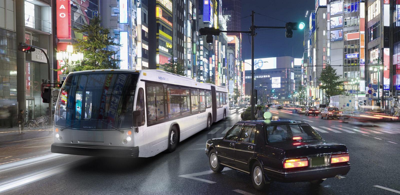 Nova-Bus LFS 60' Articulated Bus